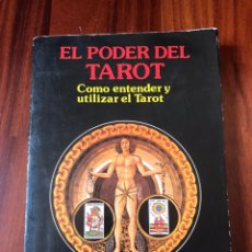 Libros de segunda mano: DR. KLAUS BERGMAN-EL PODER DEL TAROT.COMO UTILIZAR Y ENTENDER EL TAROT.1989.. Lote 209999166