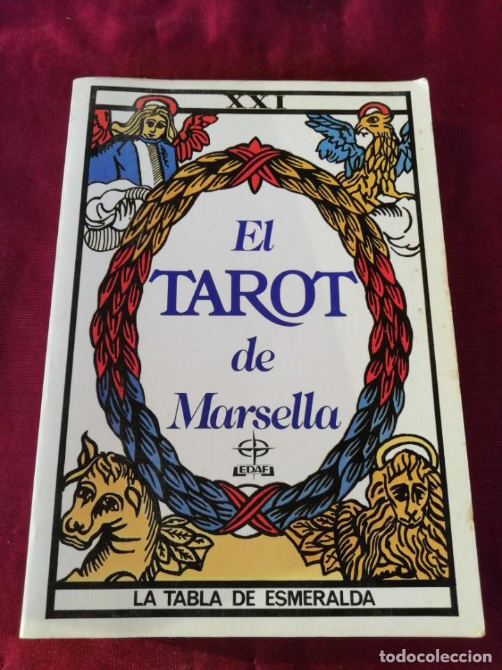 EL TAROT DE MARSELLA. LA TABLA DE ESMERALDA. PAUL MARTEAU (Libros de Segunda Mano - Parapsicología y Esoterismo - Tarot)