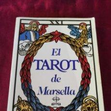 Libros de segunda mano: EL TAROT DE MARSELLA. LA TABLA DE ESMERALDA. PAUL MARTEAU. Lote 210237003