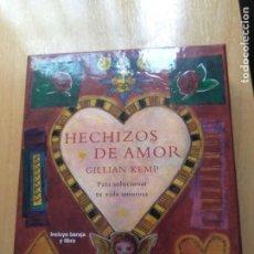 Libros de segunda mano: HECHIZOS DE AMOR-GILLIAM KEMP (BARAJA Y LIBRO) DESCATALOGADO. Lote 210270705
