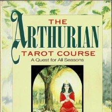 Libros de segunda mano: THE ARTHURIAN TAROT COURSE - CAITLIN MATTHEWS. Lote 210430812