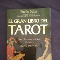 Libros de segunda mano: EMILIO SALAS EL RAN LIBRO DEL TAORT UNA OBRA EXCEPCIONAL CIENCIA OCULTA HERMETICA. Lote 210447672
