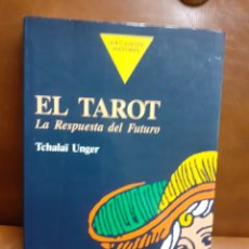 Libros de segunda mano: LIBRO .-EL TAROT LA RESPUESTA DEL FUTURO._TCHALAI UNGER. Lote 211405266
