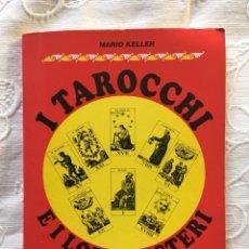 Libros de segunda mano: I TAROCCHI E I LORO MISTERI. Lote 211707241