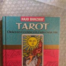 Libros de segunda mano: TAROT. ORACULO Y CONSEJOS PARA CADA DIA (TABLA DE ESMERALDA). Lote 211922591