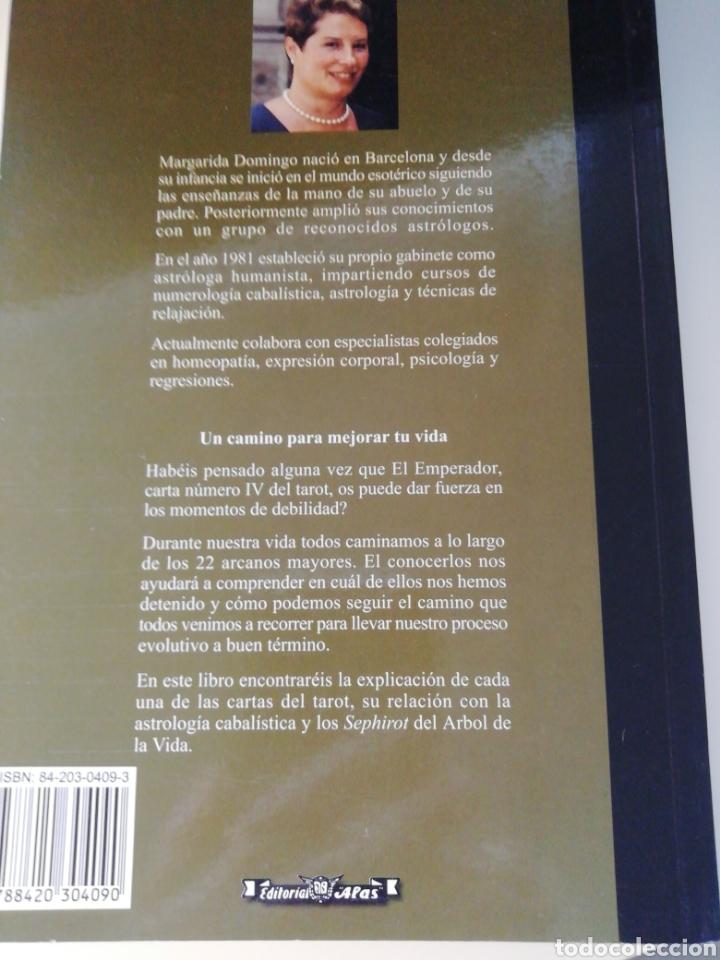 Libros de segunda mano: El Tarot y la Cábala. Un camino para mejorar tu vida. Margarida Domingo. Editorial Alas. Castellano - Foto 2 - 210454767