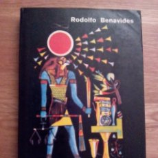 Livres d'occasion: EL TAROT PROFÉTICO Y LA GRAN PIRÁMIDE / RODOLFO BENAVIDES. Lote 213517603
