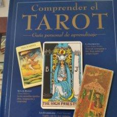 Libri di seconda mano: COMPRENDER EL TAROT-GUIA PERSONAL DE APRENDIZAJE-JULIET SHARMAN.BURKE-DASTIN 1998-COMO NUEVO. Lote 215100012