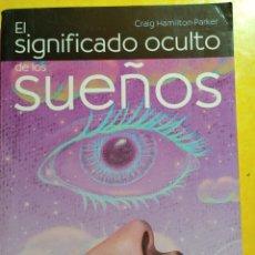 Libros de segunda mano: EL SIGNIFICADO OCULTO DE LOS SUEÑOS, PYMY 19. Lote 217372833