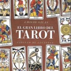 Libros de segunda mano: EL GRAN LIBRO DEL TAROT DE 398 PAGINAS CON ILUSTRACIONES. Lote 217834097