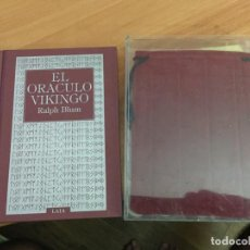 Libros de segunda mano: EL ORACULO VIKINGO RALPH BLUM. (COIB138). Lote 218212022