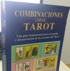 Livres d'occasion: COMBINACIONES CON EL TAROT - KELLY, DOROTHY. Lote 218254275