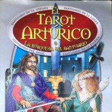 Libros de segunda mano: EL TAROT ARTÚRICO - LA BÚSQUEDA DEL SANTUARIO - CAITLÍN Y JOHN MATTHEWS - EDAF. Lote 219611325