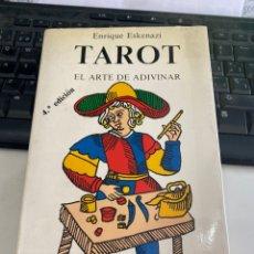 Libros de segunda mano: TAROT EL ARTE DE ADIVINAR. Lote 221272306