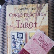 Libros de segunda mano: CURSO PRACTICO DE TAROT. JOAN BUNNING. CIRCULO + BARAJA TAROT RIDER WAITE.. Lote 221366850