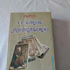 Libros de segunda mano: PAPUS EL TAROT ADIVINATORIO TEOREMA. Lote 221530927