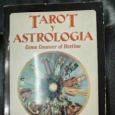 Libros de segunda mano: TAROT Y ASTROLOGIA COMO CONOCER EL DESTINO ( MURIEL BRUCE HASBROUCK ). Lote 221770831