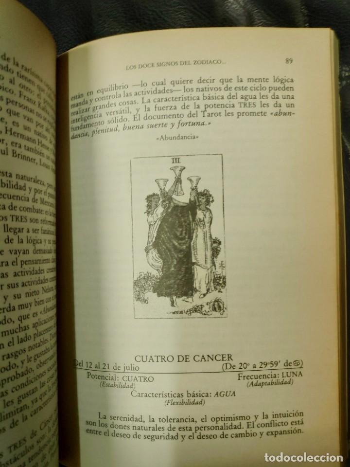 Libros de segunda mano: TAROT Y ASTROLOGIA COMO CONOCER EL DESTINO ( MURIEL BRUCE HASBROUCK ) - Foto 6 - 221770831
