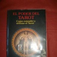 Libros de segunda mano: EL PODER DEL TAROT. COMO ENTENDER Y UTILIZAR EL TAROT - KLAUS BERGMAN. Lote 222338848