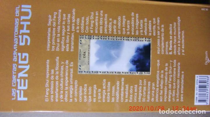 Libros de segunda mano: LAS CARTAS ADIVINATORIAS DEL FENG SHUI-SIGNIFICADO INTERPRETACION ADIVINACION - Foto 2 - 222550148