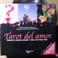 Libros de segunda mano: CAJA TAROT DEL AMOR-CONOCE TU FUTURO AMOROSO Y ELIGE TU PAREJA IDEAL. Lote 222550703