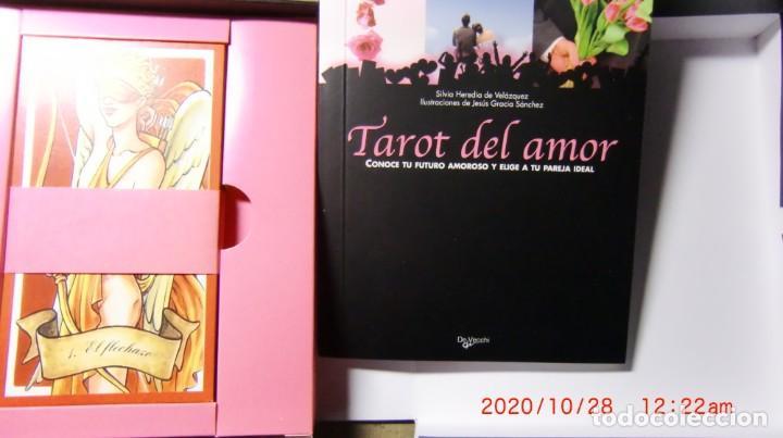 Libros de segunda mano: CAJA TAROT DEL AMOR-CONOCE TU FUTURO AMOROSO Y ELIGE TU PAREJA IDEAL - Foto 2 - 222550703