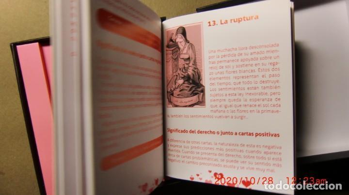 Libros de segunda mano: CAJA TAROT DEL AMOR-CONOCE TU FUTURO AMOROSO Y ELIGE TU PAREJA IDEAL - Foto 3 - 222550703