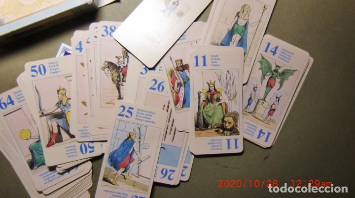Libros de segunda mano: CARTAS ADIVINATORIAS- TAROT DE THOT-8O CARTAS - Foto 3 - 222551792