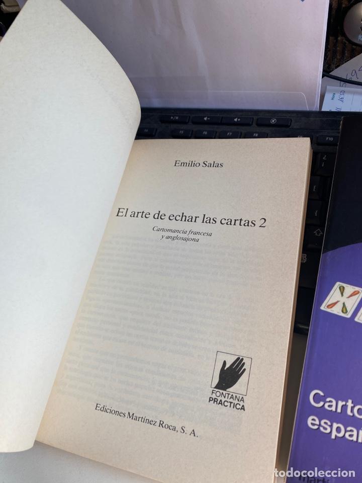 Libros de segunda mano: El arte de echar las cartas - Foto 2 - 222666281