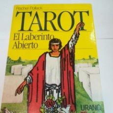 Livres d'occasion: RACHEL POLLACK TAROT. EL LABERINTO ABIERTO S1273AT. Lote 222906340
