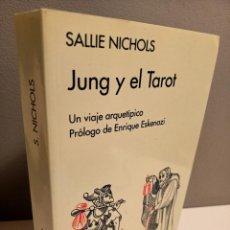 Livres d'occasion: JUNG Y EL TAROT, SALLIE NICHOLS, TAROT/ TAROT, EDITORIAL KAIROS, 5ª EDICION, 1999. Lote 223106003
