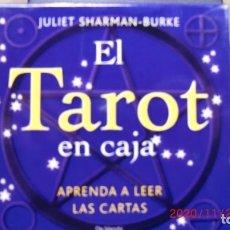 Libros de segunda mano: EL TAROT EN CAJA-LIBRO+TABLERO+BARAJA TAROT. Lote 223207861