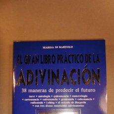 Libros de segunda mano: EL GRAN LIBRO PRÁCTICO DE LA ADIVINACIÓN-38 MANERAS DE PREDECIR EL FUTURO. Lote 223209085