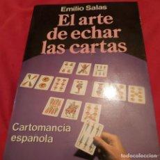 Libros de segunda mano: EL ARTE DE ECHAR LAS CARTAS. EMILIO SALAS. MARTEZ ROCA ED.. Lote 224261038
