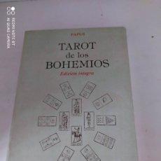Livres d'occasion: TAROT DE LOS BOHEMIOS EDICIÓN INTEGRA PAPUS. Lote 224813022