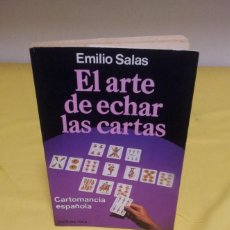 Libros de segunda mano: EMILIO SALAS - EL ARTE DE ECHAR LAS CARTAS - MARTINEZ ROCA 1987. Lote 224908528