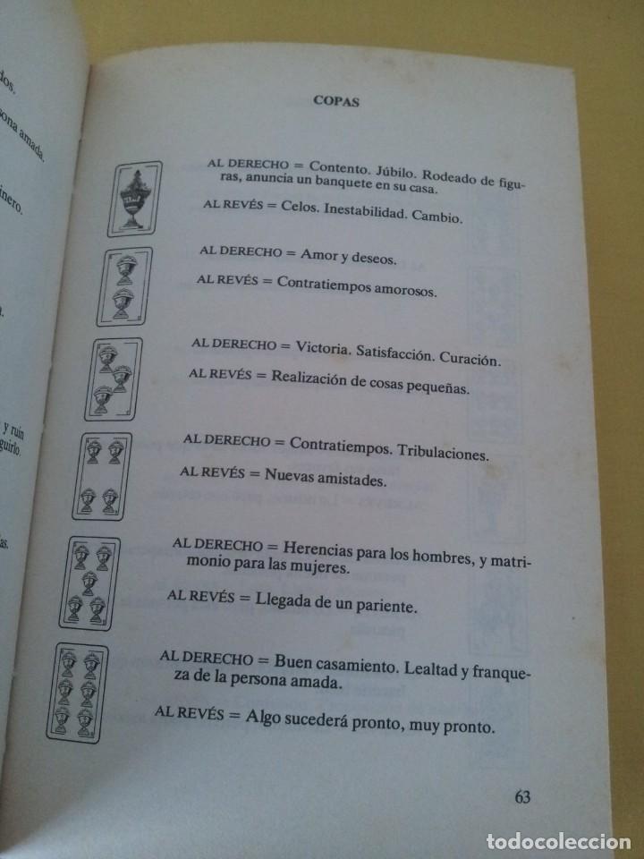 Libros de segunda mano: EMILIO SALAS - EL ARTE DE ECHAR LAS CARTAS - MARTINEZ ROCA 1987 - Foto 5 - 224908528