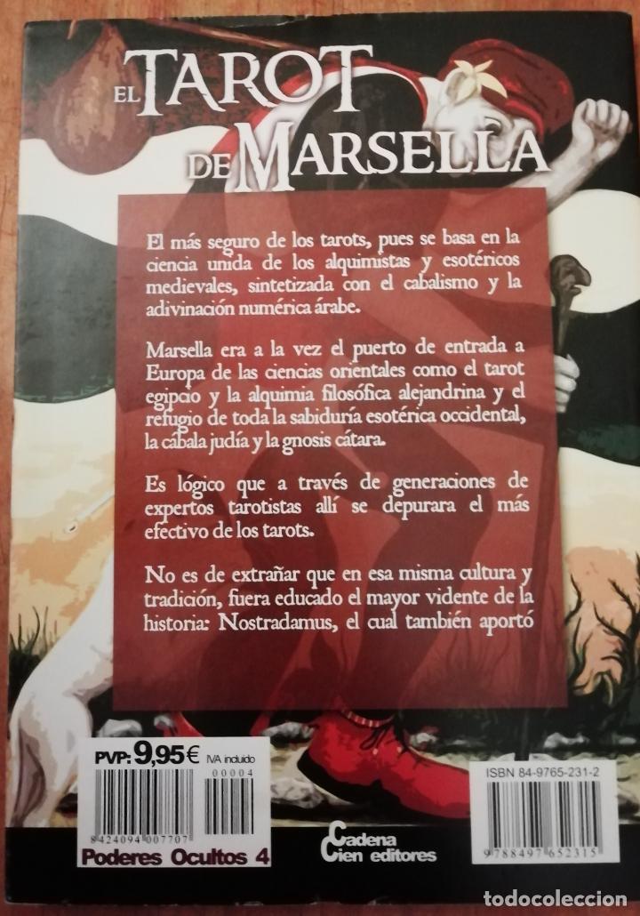 Libros de segunda mano: EL TAROT DE MARSELLA - Foto 2 - 225080163
