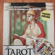 Libros de segunda mano: EL TAROT DE MARSELLA. Lote 225080163