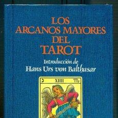 Libri di seconda mano: NUMULITE L0490 LOS ARCANOS MAYORES DEL TAROT HERDER INTRODUCCIÓN HANS URS VON BALTHASAR. Lote 227762915