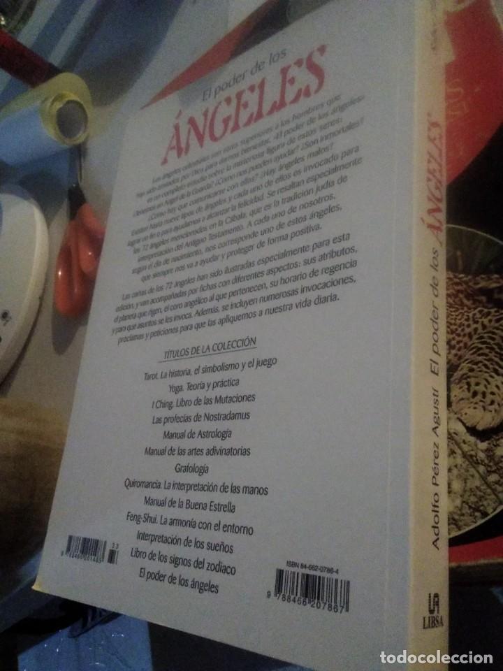 Libros de segunda mano: El poder de los Ángeles Adolfo Pérez Agusti Libsa - Foto 2 - 229188255