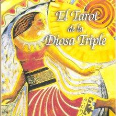 Livres d'occasion: EL TAROR DE LA DIOSA TRIPLE - ISHA LERNER. Lote 230157180