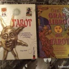 Libros de segunda mano: LOTE 2 LIBROS TAROT. Lote 230943830