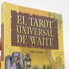 Livres d'occasion: EL TAROT UNIVERSAL DE WAITE - EDITH WAITE. Lote 233512265