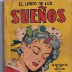 Libros de segunda mano: EL LIBRO DE LOS SUEÑOS - MANUALES CISNE - AÑOS 50. Lote 234034010