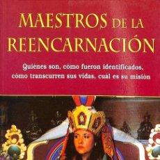 Libros de segunda mano: MAESTROS DE LA REENCARNACIÓN. Lote 235358330