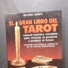 Libros de segunda mano: EL GRAN LIBRO DEL TAROT-MANUAL PRACTICO-CONTIENE BARAJA DE 78 CARTAS-ENVIO GRATUITO. Lote 238624150