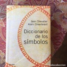 Livres d'occasion: DICCIONARIO DE LOS SÍMBOLOS. Lote 238795890