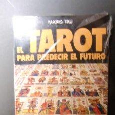 Libros de segunda mano: TAROT-PARA PREDECIR EL FUTURO-COMO LEER EL FUTURO CON EL TAROT-ENVIO GRATUITO. Lote 241383105