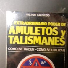 Libros de segunda mano: AMULETOS Y TALISMANES-COMO SE HACEN-COMO SE UTILIZAN-ENVIO GRATUITO. Lote 241386315